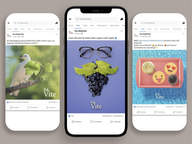 Mad Fever - Vini Bellavite creazione contenuti social