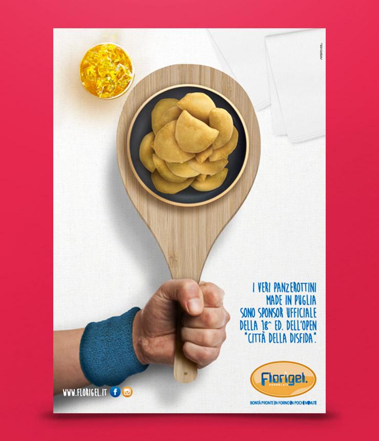 Mad Fever - Florigel pagina pubblicitaria tennis 2017