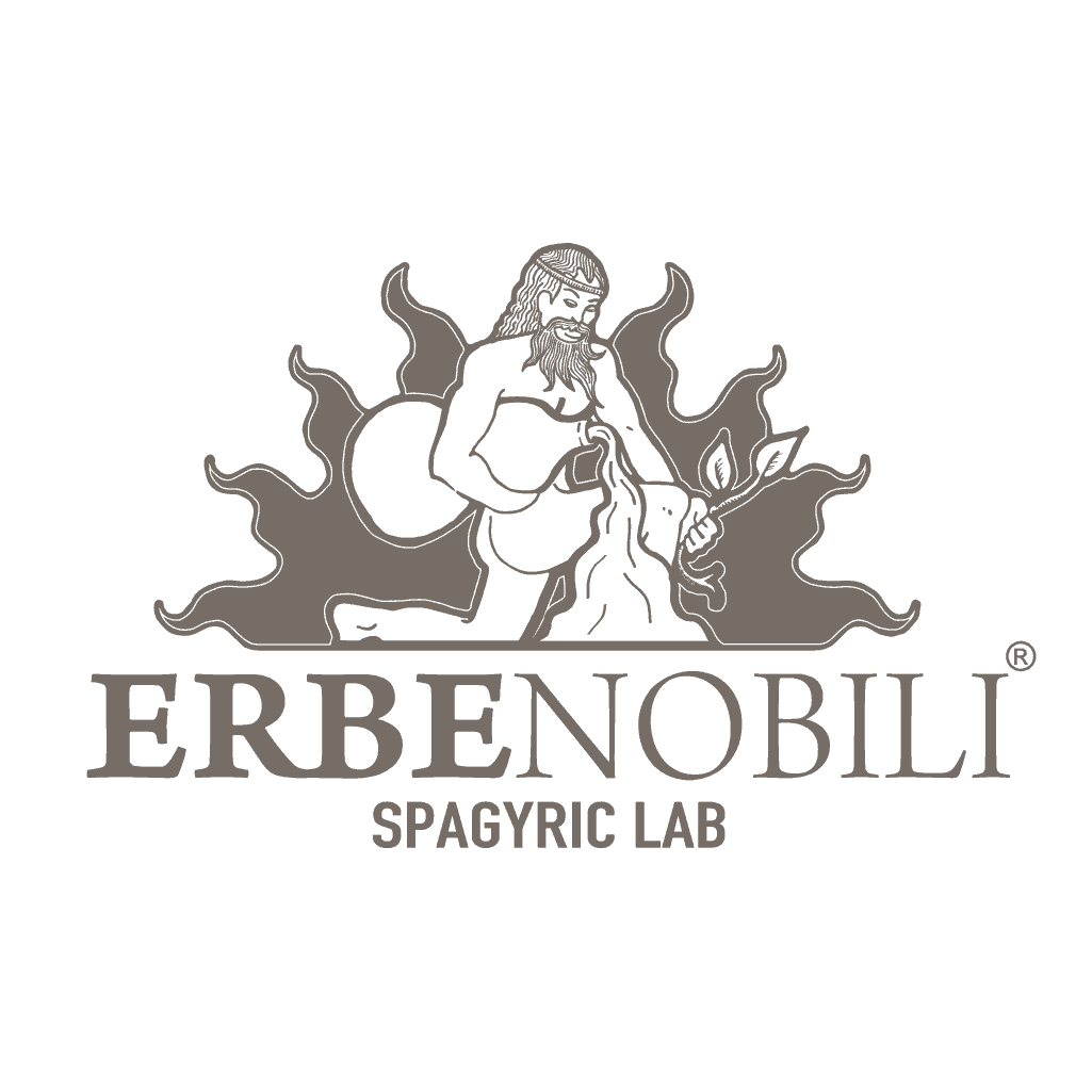 Erbenobili Spagyric lab logo Animazione